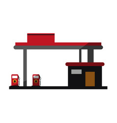 Oil industry related icon image vector