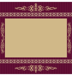 Vintage background with retro colors vector image