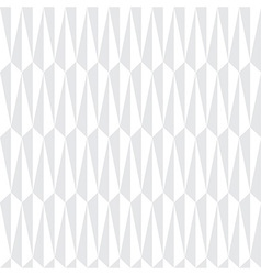 White Abstract Geometric Seamless Pattern vector image vector image