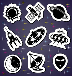 Space exploration label vector