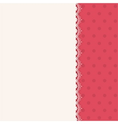 lace centre panel background vector image vector image