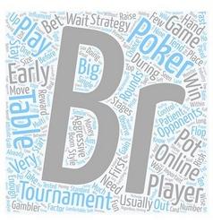 Online poker tournaments 1 text background vector