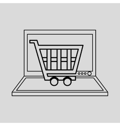technology e-commerce buy online vector image