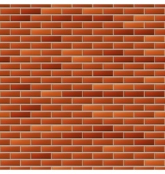 Seamless realistic brick wall vector