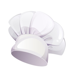 Cooking cap isolated on white background vector image