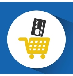credit card design vector image vector image