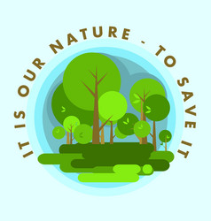 Nature of the environment vector