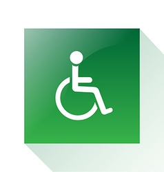 Wheelchair vector
