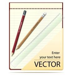 Notepad vector