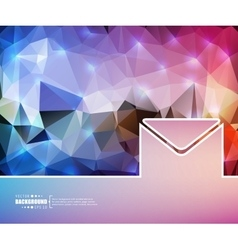 Creative envelope art vector