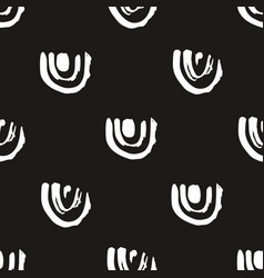 abstract seamless pattern on a black background vector image