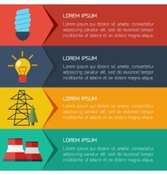 Modern flat city background infographics with text vector
