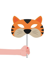 Tiger Mask vector image
