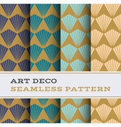 Art deco seamless pattern 08 vector