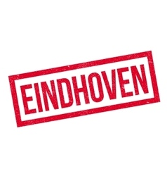 Eindhoven rubber stamp vector image