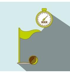golf championship design vector image