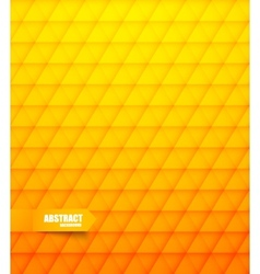 Abstract pattern in orange color vector image vector image