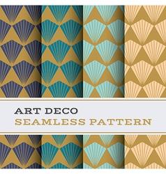 Art Deco seamless pattern 08 vector image vector image