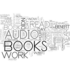 Benefit from books each year text word cloud vector