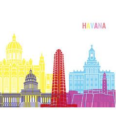 Havana v2 skyline pop vector