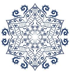 Mandala ornamental design vector