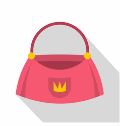Bag icon flat style vector