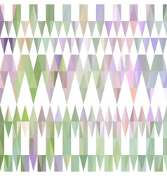 Colorful abstract triangular pattern vector