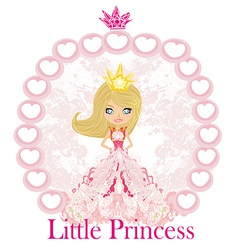 Little princess vector