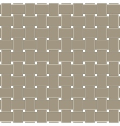 Rattan style weave texture pattern vector