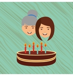 Person party celebration design vector