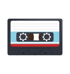 Stereo cassette isolated flat icon vector