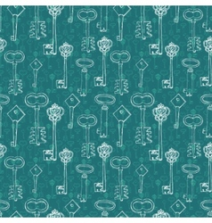 background with retro keys vector image vector image