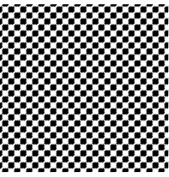 Black and white distort checkered abstract vector