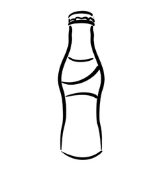 Bottle icon Soda and drink design vector image vector image