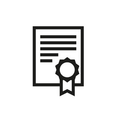 Charter icon on white background vector
