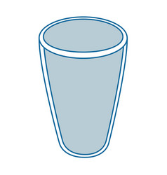 Glass icon image vector