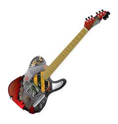 Guitar Frankenstein vector image vector image