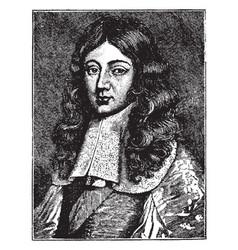 James duke of monmouth vintage vector