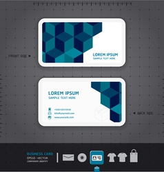 Modern Business-Card Design vector image vector image