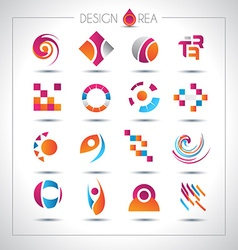 Set of design elements for your project vector