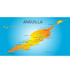 Anguilla territory vector