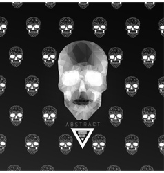 Dark Graveyard Background vector image