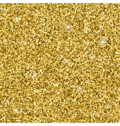 Golden glitter pattern vector