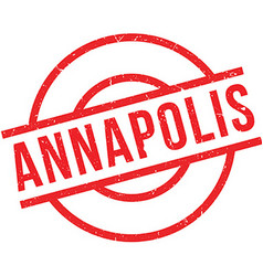 Annapolis rubber stamp vector