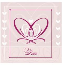 love wedding  vector image