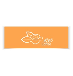 Coffee banners for your design vector image