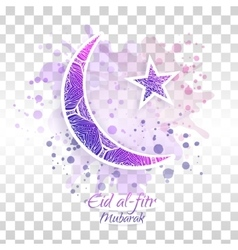 Eid al-fitr on transparent vector