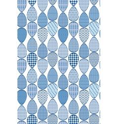egg blue seamless 380 vector image