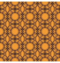 Seamless outlines pattern in oriental style Islam vector image
