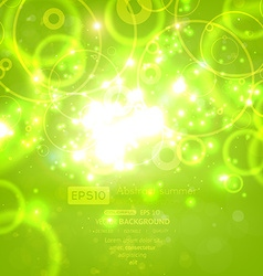 Bright backdrop with circles vector